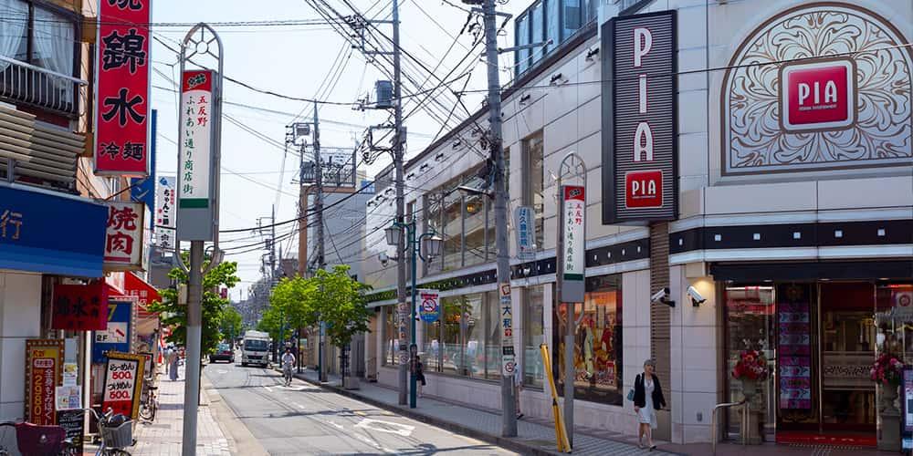 東武スカイツリーライン「五反野」徒歩8分