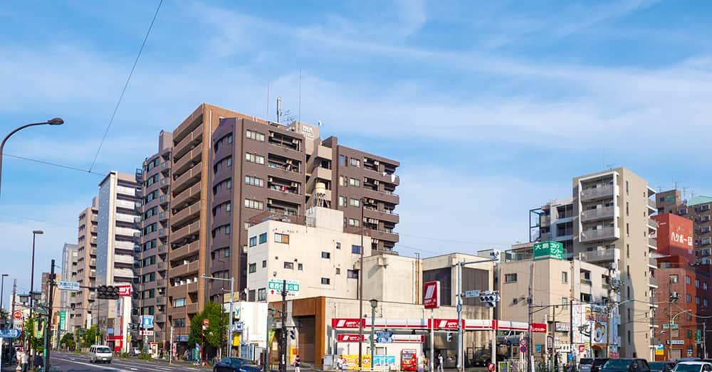 都営新宿線「大島」駅徒歩2分