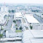 さいたま新都心駅ですすむ、駅東側の再開発