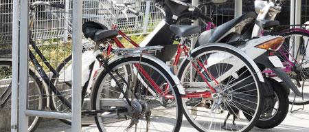 駐輪場の設置 バイク置き場