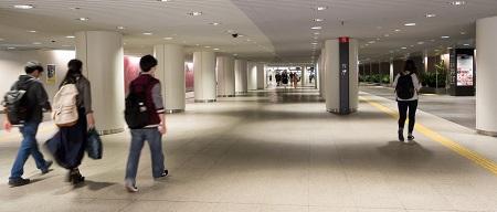 地下歩道空間