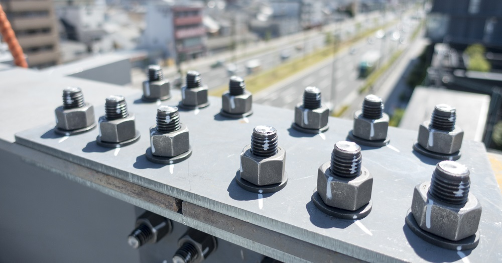 ボルト不足で工事期間の長期化!?高力ボルトとは…