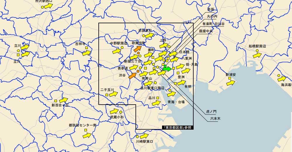 97%の主要都市で上昇 最新地価LOOKレポート