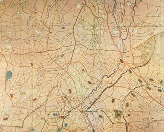 目黒近辺古地図
