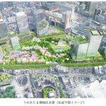 大阪駅前に森が出現?関空とも直結、うめきた再開発