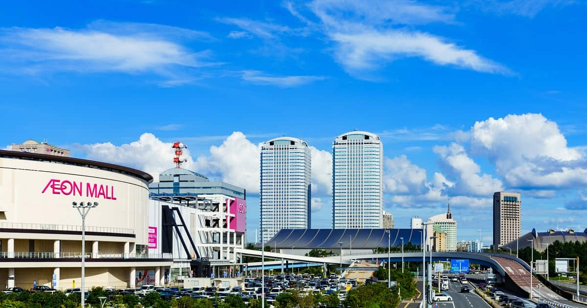 JR京葉線の新駅ができる、幕張新都心の街づくり