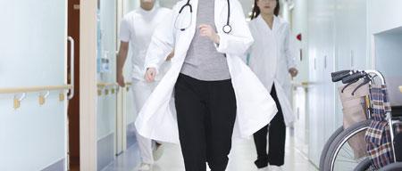 忙しい医師