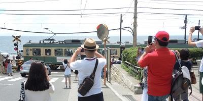 鎌倉高校前1号踏切