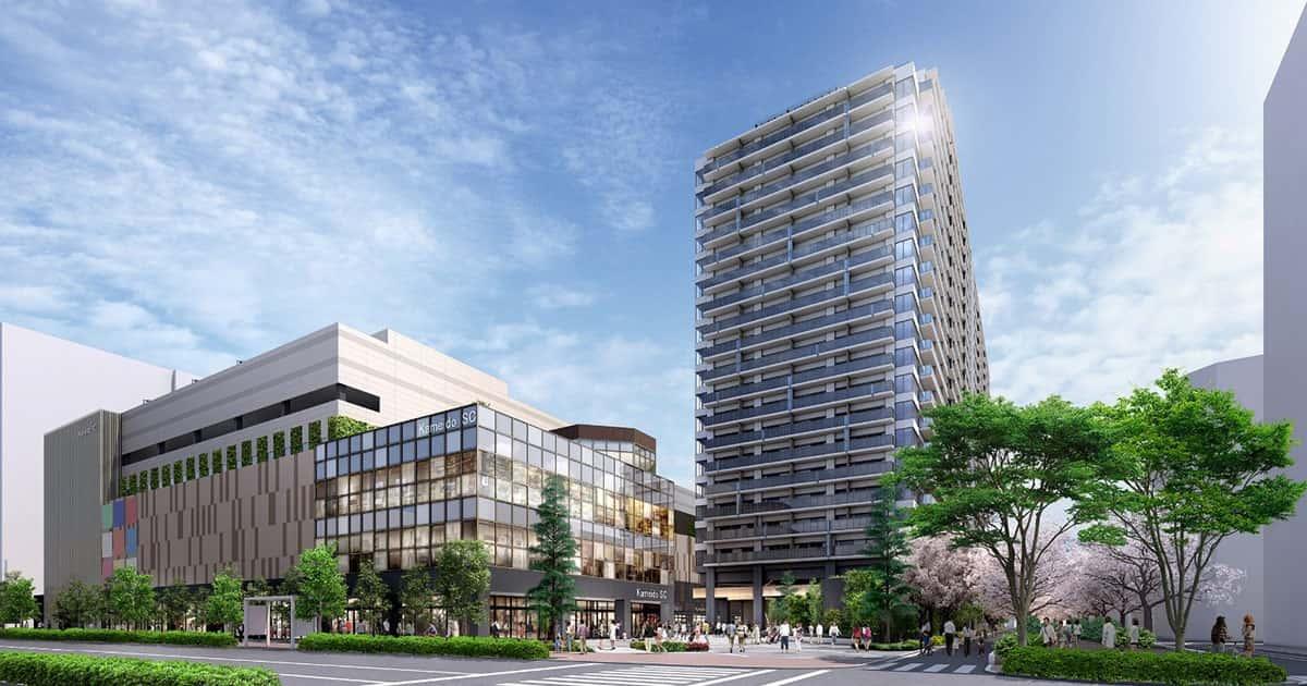 亀戸駅徒歩2分の再開発 地域共生型街づくり始動