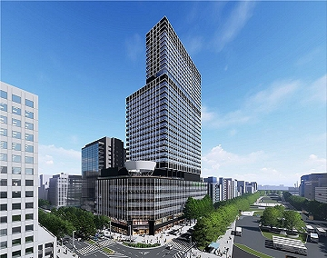 栄エリア再開発-中日ビル建て替え計画